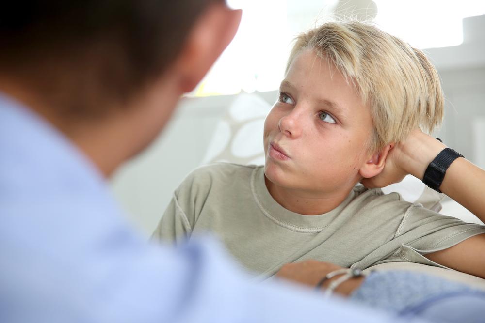 dizer não para o seu filho