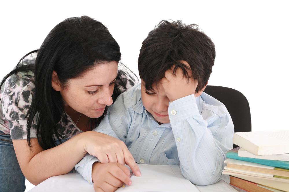 ajudar o seu filho na lição de casa