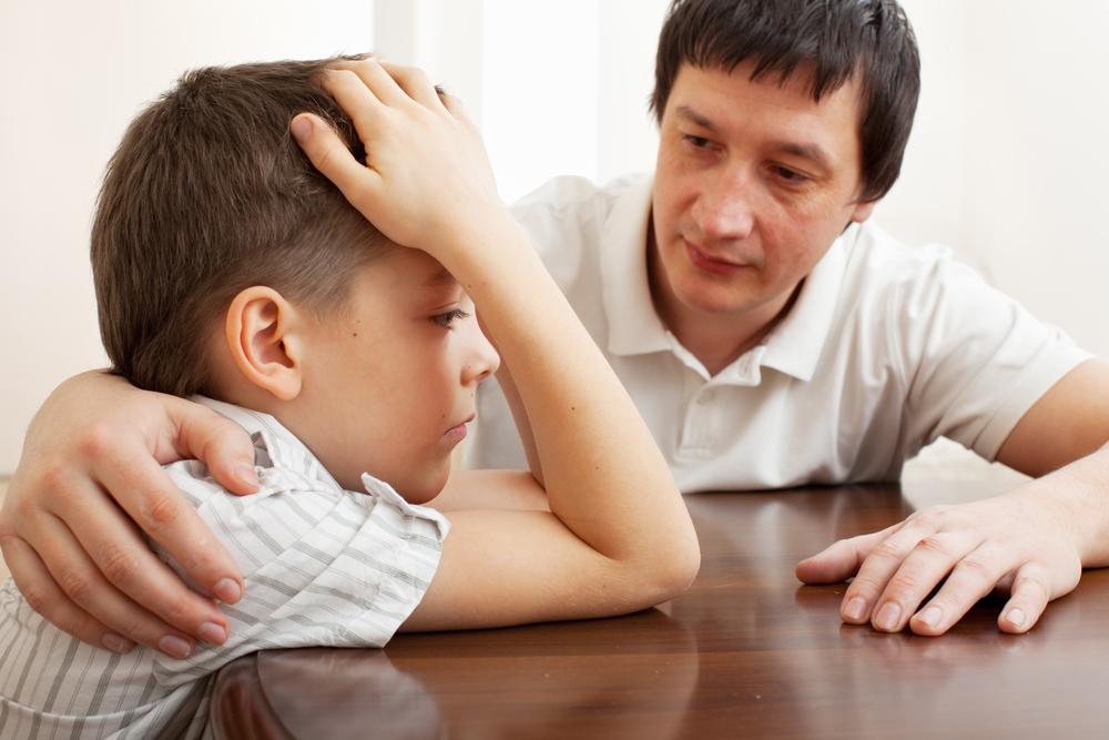 lidar com as frustrações dos seus filhos
