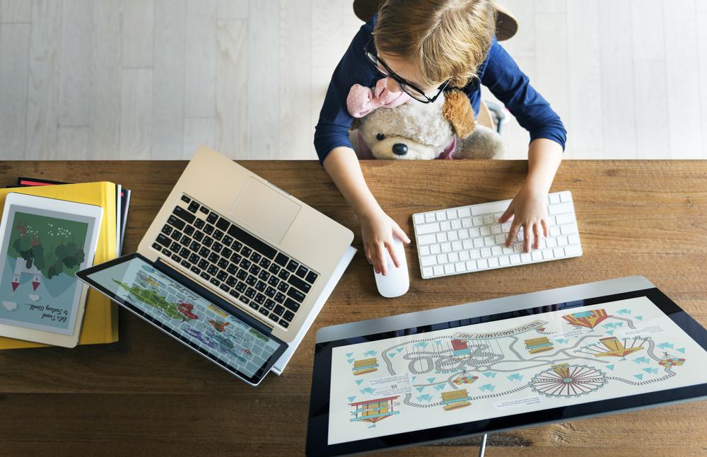 Monitorar a criança na internet